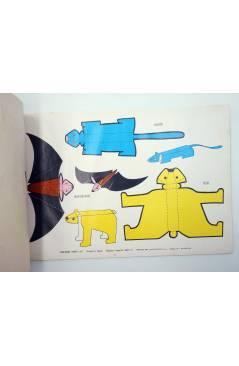 Contracubierta de SIN CORTAR NI PEGAR. SERIE C 8 LÁMINAS 24 ANIMALES DISTINTOS (No Acreditado) Toray 1971