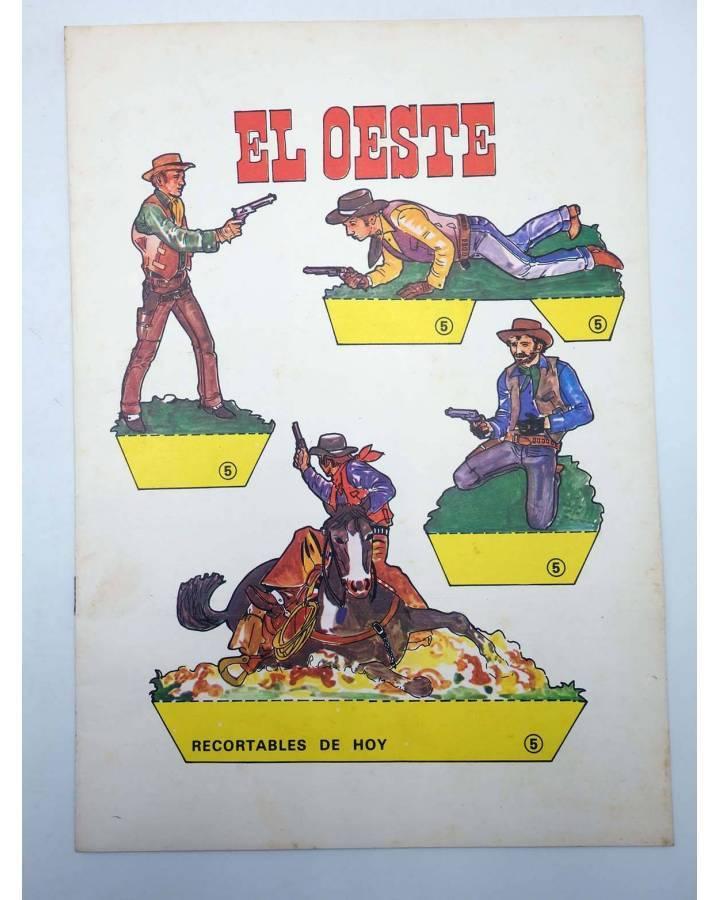 Cubierta de RECORTABLES DE HOY 5. EL OESTE (Francisco Losada) Bausán 1979
