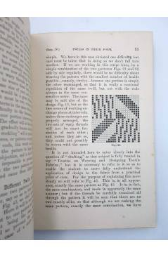 Muestra 5 de MANUAL OF TECHNOLOGY DESIGN IN TEXTILE FABRICS (Thomas R. Ashenhurst) Cassell and Co. 1907