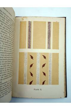 Muestra 6 de MANUAL OF TECHNOLOGY DESIGN IN TEXTILE FABRICS (Thomas R. Ashenhurst) Cassell and Co. 1907
