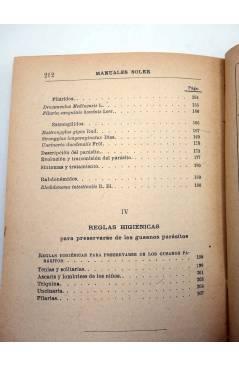 Muestra 4 de MANUALES SOLER XXV 25. GUSANOS PARÁSITOS DEL HOMBRE (M. Rivas Mateos) Manuel Soler 1900