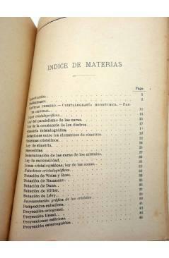 Muestra 1 de MANUALES SOLER XXXI 31. CRISTALOGRAFÍA (Lucas Fernández Navarro) Manuel Soler 1900