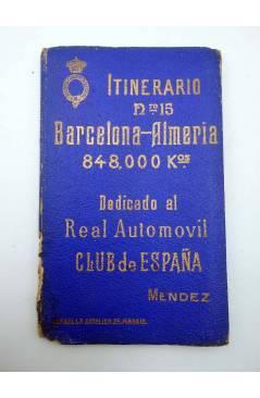Cubierta de ITINERARIOS 15. BARCELONA ALMERÍA (No Acreditado) RACE