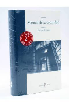 Cubierta de MANUAL DE LA OSCURIDAD (Enrique De Hériz) Edhasa 2009