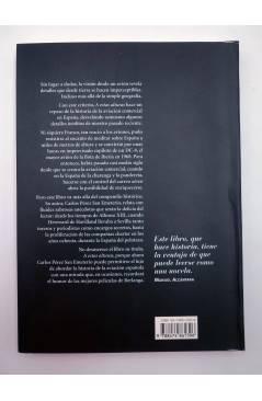 Contracubierta de A ESTAS ALTURAS. HISTORIAS DE LA AVIACIÓN COMERCIAL EN ESPAÑA (Carlos Pérez San Emeterio) Noray 2003