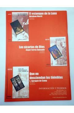 Contracubierta de PULP MAGAZINE 7. PULPZINE DE CIENCIA FICCIÓN Y FANTASÍA (Vvaa) Pulp Ediciones 2001
