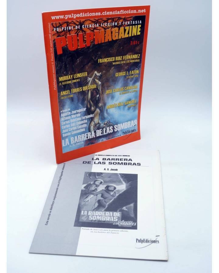 Cubierta de PULP MAGAZINE 8. PULPZINE DE CIENCIA FICCIÓN Y FANTASÍA (Vvaa) Pulp Ediciones 2001
