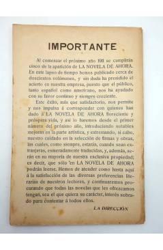 Muestra 1 de LA NOVELA DE AHORA 3ª EPOCA 101. EL CLUB DE LOS CUELLOS NEGROS III (Fortuné Du Boisgobey) Saturnino Calleja