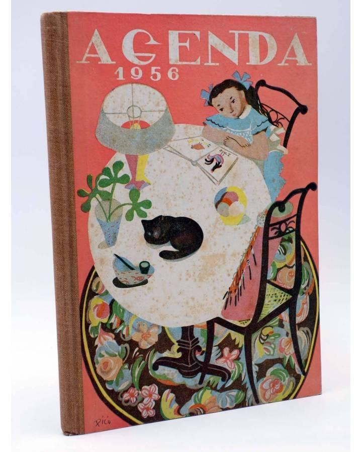 Cubierta de SECCIÓN FEMENINA DE LAS FET Y DE LAS JONS F.E.T. J.O.N.S.. ALMANAQUE AGENDA 1956 (No Acreditado) FET y de la