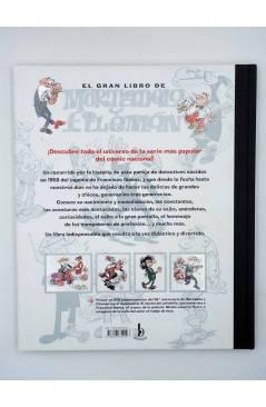 Contracubierta de EL GRAN LIBRO DE MORTADELO Y FILEMÓN 50 ANIVERSARIO INCLUYE DVD (F. Ibáñez) B 2007
