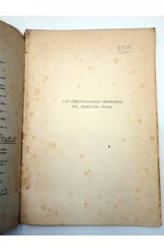 Muestra 1 de LAS ORIENTACIONES MODERNAS DEL DERECHO PENAL (Enrique De Benito) F. Vivés Mora 1922