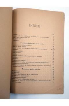 Muestra 2 de ALMANAQUE JUDICIAL Y PRONTUARIO DE DISPOSICIONES LEGALES VIGENTES (D. Joaquín De Benavente) Manuel Alufre 1