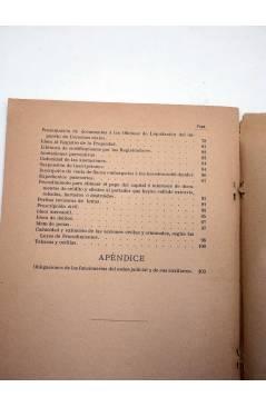Muestra 3 de ALMANAQUE JUDICIAL Y PRONTUARIO DE DISPOSICIONES LEGALES VIGENTES (D. Joaquín De Benavente) Manuel Alufre 1