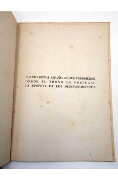 Muestra 1 de CUATRO REINAS ESPAÑOLAS EN LA EPOPEYA PORTUGUESA DE LOS DESCUBRIMIENTOS (Félix De Llanos) Magisterio Españo