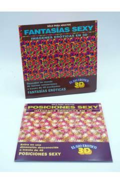 Cubierta de EL OJO ERÓTICO 3D. POSICIONES SEXY IMÁGENES ERÓTICAS EN 3D (Rainy Office) Tebeos S.A. 1994