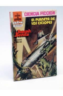 Cubierta de LA CONQUISTA DEL ESPACIO EXTRA 5. EL PLANETA DE LOS CÍCLOPES (Joseph Berna) Bruguera 1982