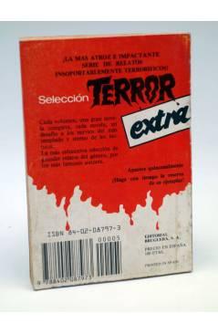 Contracubierta de LA CONQUISTA DEL ESPACIO EXTRA 5. EL PLANETA DE LOS CÍCLOPES (Joseph Berna) Bruguera 1982