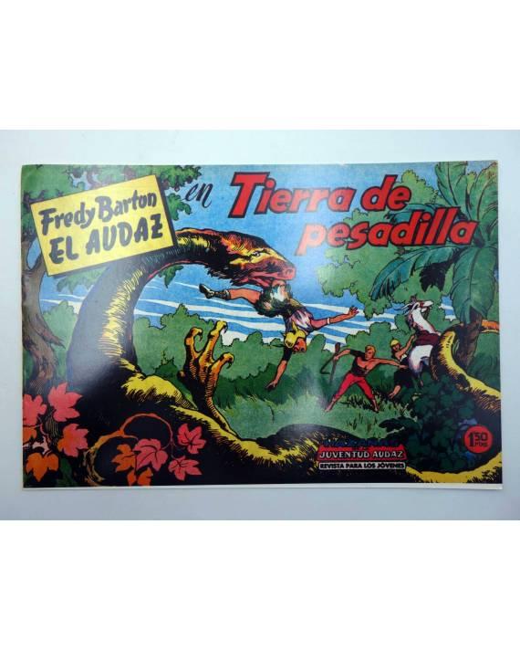 Cubierta de FREDY BARTON EL AUDAZ 6. TIERRA DE PESADILLA (Cabedo Torrents) Comic MAM 1980. FACSÍMIL