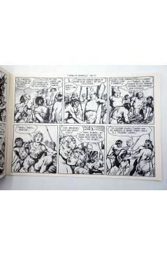 Contracubierta de FREDY BARTON EL AUDAZ 6. TIERRA DE PESADILLA (Cabedo Torrents) Comic MAM 1980. FACSÍMIL