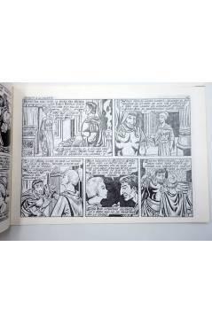 Contracubierta de SIMBA KAN REY DE LOS LEONES 46. DESAFÍO A LA MUERTE (Martínez Osete) Comic MAM 1985. FACSÍMIL