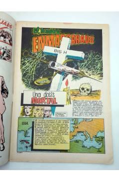 Contracubierta de COLOSOS DEL COMIC 235. EL HOMBRE ENMASCARADO 43. UNA DOSIS MORTAL (No Acreditado) Valenciana 1981