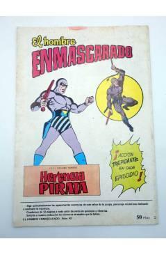 Muestra 2 de COLOSOS DEL COMIC 235. EL HOMBRE ENMASCARADO 43. UNA DOSIS MORTAL (No Acreditado) Valenciana 1981