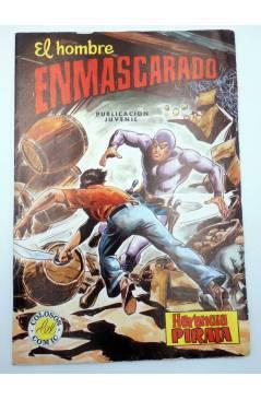 Cubierta de COLOSOS DEL COMIC 236. EL HOMBRE ENMASCARADO 44. HERENCIA PIRATA (No Acreditado) Valenciana 1981