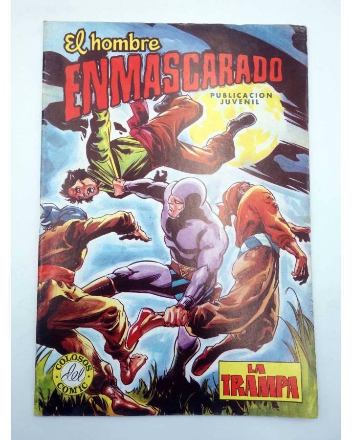 Cubierta de COLOSOS DEL COMIC 237. EL HOMBRE ENMASCARADO 45. LA TRAMPA (No Acreditado) Valenciana 1981