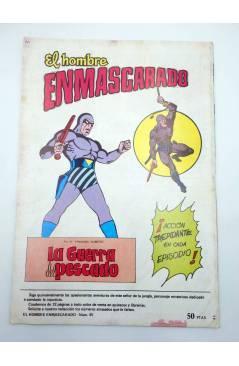 Muestra 2 de COLOSOS DEL COMIC 237. EL HOMBRE ENMASCARADO 45. LA TRAMPA (No Acreditado) Valenciana 1981