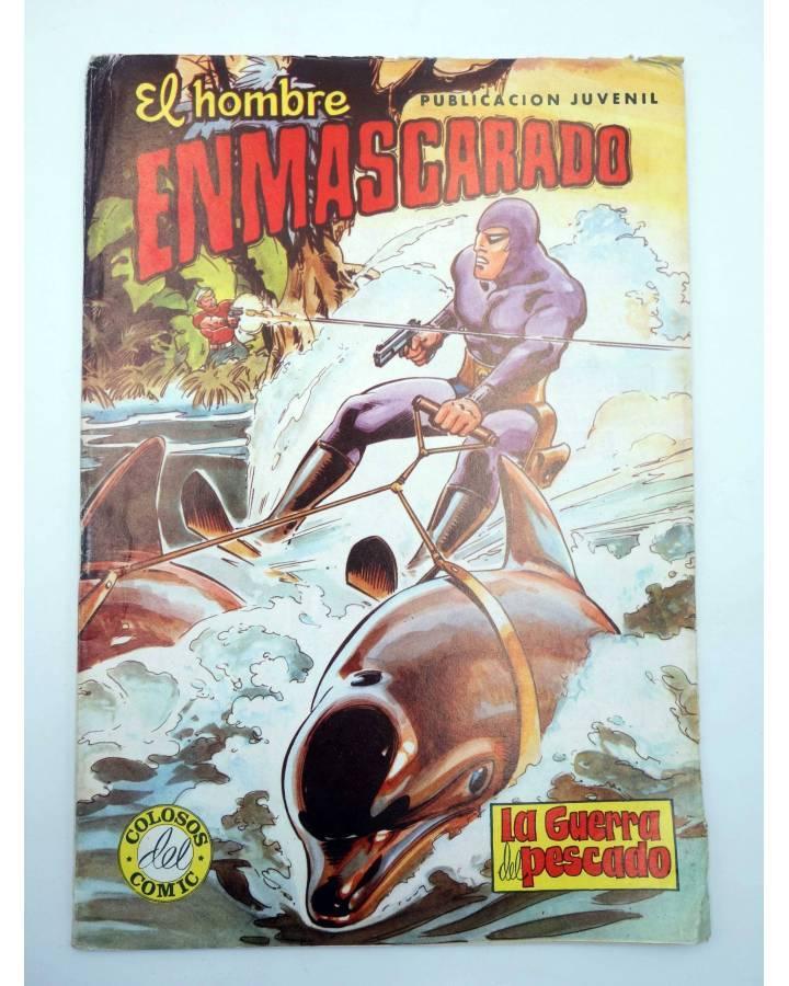 Cubierta de EL HOMBRE ENMASCARADO 46. LA GUERRA DEL PESCADO (No Acreditado) Valenciana 1981