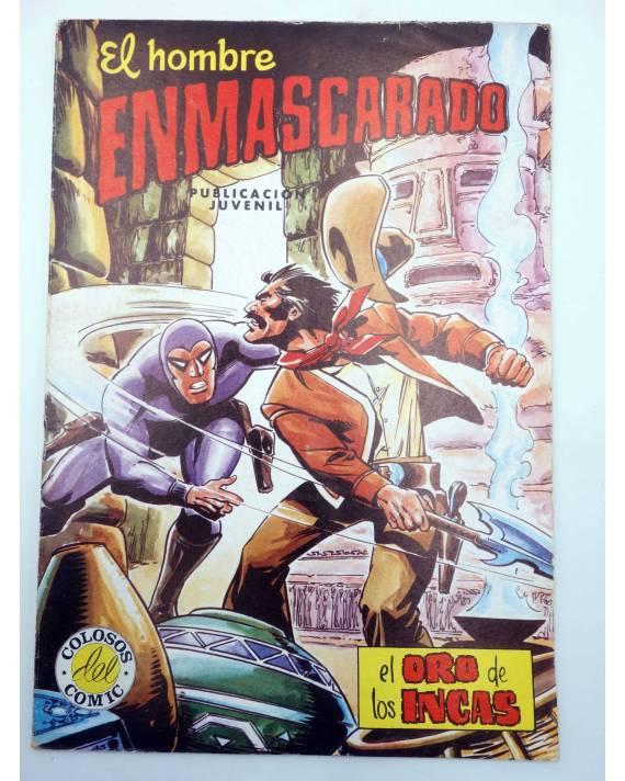 Cubierta de EL HOMBRE ENMASCARADO 50. EL ORO DE LOS INCAS (No Acreditado) Valenciana 1982