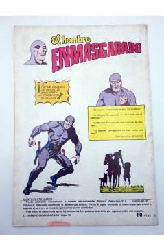 Muestra 2 de EL HOMBRE ENMASCARADO 50. EL ORO DE LOS INCAS (No Acreditado) Valenciana 1982