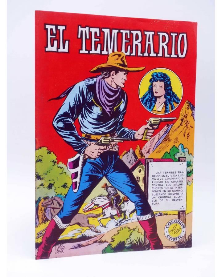 Cubierta de COLOSOS DEL COMIC 206. EL TEMERARIO 1 (Gago) Valenciana 1981