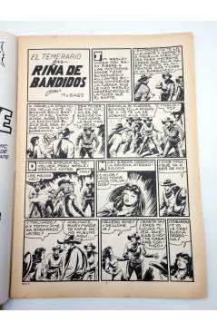 Muestra 1 de COLOSOS DEL COMIC 209. EL TEMERARIO 4 RIÑA DE BANDIDOS (Gago) Valenciana 1981