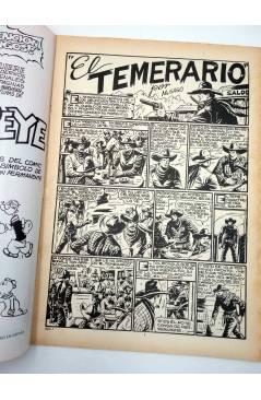 Muestra 1 de COLOSOS DEL COMIC. EL TEMERARIO 1 2 4 6 9. LOTE DE 5 (Gago) Valenciana 1981