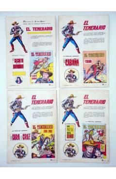 Muestra 1 de COLOSOS DEL COMIC. EL TEMERARIO 1 2 4 6 8 9 10. LOTE DE 7 (Gago) Valenciana 1981
