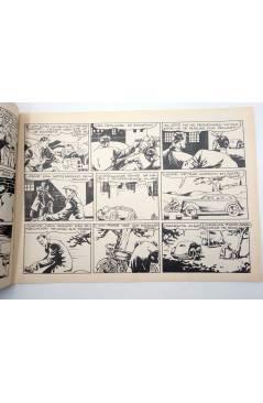 Contracubierta de X3 X-3 Y SU PATRULLA SECRETA 4. EN LA CARRERA DE LA MUERTE (José Grau) Comic Mam? 1985. FACSÍMIL