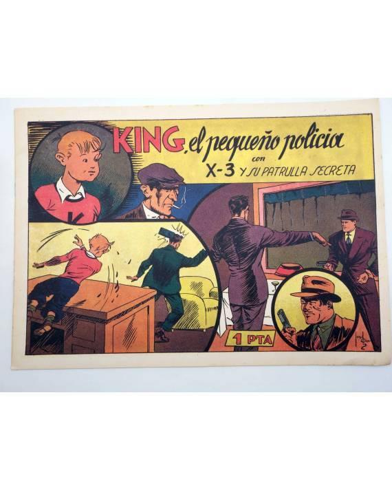Cubierta de KING EL PEQUEÑO POLICIA CON X3 X-3 Y SU PATRULLA SECRETA 11 (José Grau) Comic Mam? 1985. FACSÍMIL