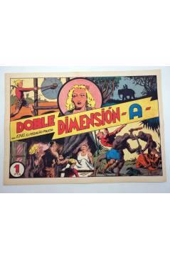 Cubierta de KING EL PEQUEÑO POLICÍA 22. DOBLE DIMENSIÓN A (José Grau) Comic Mam? 1985. FACSÍMIL