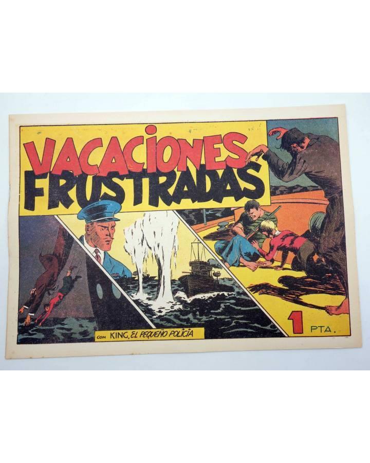 Cubierta de KING EL PEQUEÑO POLICÍA 23. VACACIONES FRUSTRADAS (José Grau) Comic Mam? 1985. FACSÍMIL
