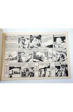 Contracubierta de KING EL PEQUEÑO POLICÍA 23. VACACIONES FRUSTRADAS (José Grau) Comic Mam? 1985. FACSÍMIL
