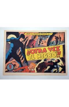 Cubierta de KING EL PEQUEÑO POLICÍA 24. OTRA VEZ EL NEGRO (José Grau) Comic Mam? 1985. FACSÍMIL