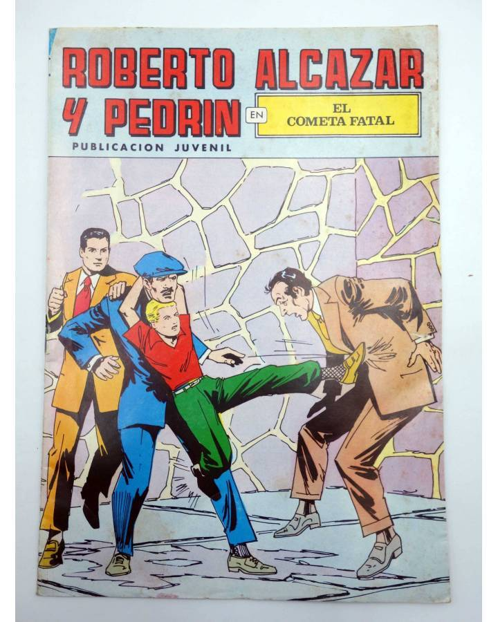 Cubierta de ROBERTO ALCÁZAR Y PEDRÍN 2ª EPOCA 106. EL COMETA FATAL (No Acreditado) Valenciana 1978
