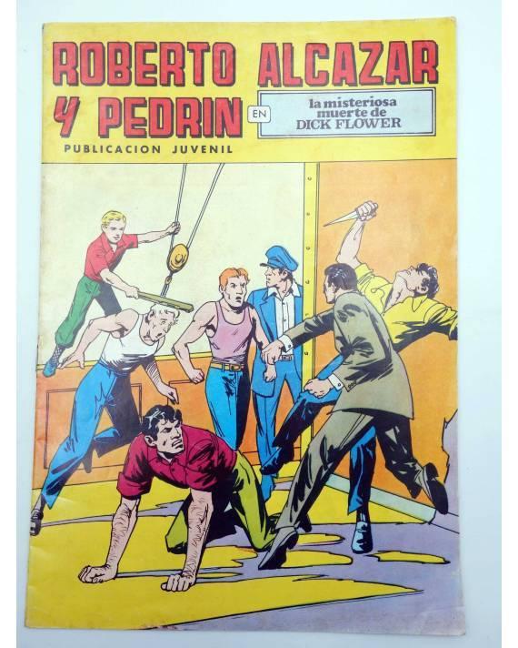 Cubierta de ROBERTO ALCÁZAR Y PEDRÍN 2ª EPOCA 107. LA MISTERIOSA MUERTE DE DICK FLOWER (No Acreditado) Valenciana 1978