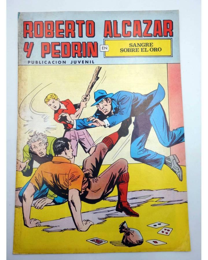 Cubierta de ROBERTO ALCÁZAR Y PEDRÍN 2ª EPOCA 108. SANGRE SOBRE EL ORO (No Acreditado) Valenciana 1978