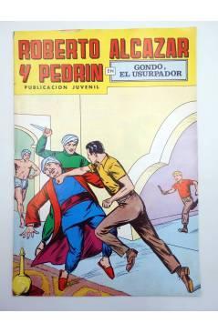 Cubierta de ROBERTO ALCÁZAR Y PEDRÍN 2ª EPOCA 167. GONDO EL USURPADOR (No Acreditado) Valenciana 1979