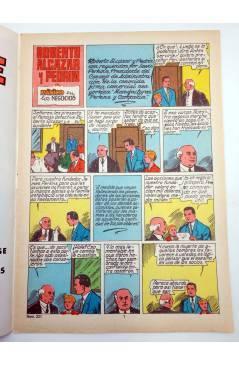 Contracubierta de ROBERTO ALCÁZAR Y PEDRÍN 2ª EPOCA 231. PÁNICO EN LOS NEGOCIOS (No Acreditado) Valenciana 1980