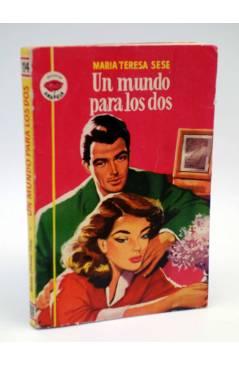 Cubierta de COLECCIÓN AMAPOLA 114. UN MUNDO PARA LOS DOS (María Teresa Sesé) Bruguera 1954