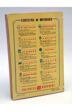 Contracubierta de COLECCIÓN AMAPOLA 114. UN MUNDO PARA LOS DOS (María Teresa Sesé) Bruguera 1954