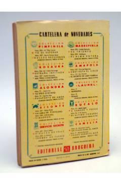 Contracubierta de COLECCIÓN AMAPOLA 122. AQUI ESTÁ EL CIELO (Trini De Figueroa) Bruguera 1954